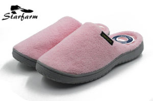 Winter Fleece Pure Color Slippers for Promotion