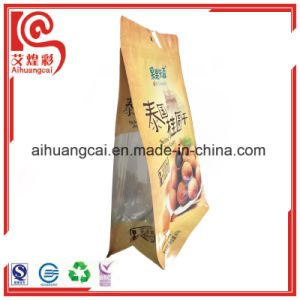 Eight Side Heat Seal Aluminum Foil Plastic Chips Bag pictures & photos