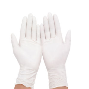 Disposable Examination Latex Glove pictures & photos