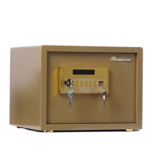 Security Home Safe Box with Digital Lock-Champagne Gold Seriers Fdx a/D 32y pictures & photos