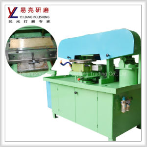 Automatic Watch Grinder with Wet Polishing Process for Fine Grinding Steel Watch Case Surface to Be Wire Drawing Finish