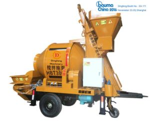 Jzcp200-500 Portabel Electric Cement Drum Mixer with Pump