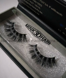 Hot Seller Natural Looking Handmade False Eyelashes Mink Fur Lashes pictures & photos