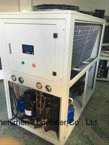 5ton (-10C°) Air Cooled Glycol Water Chiller for Checmical Processing