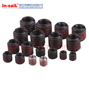 Screwlocking Type Self-Tapping Threaded Inserts pictures & photos