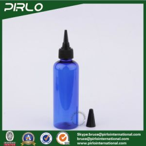500ml Cobalt Blue Empty Plastic Dropper Botttle with Unicorn Twist Top Cap for Cosmetics or Pharmaceutical Use pictures & photos