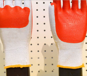 Cheap Wear-Resisting and Impact Resistant Hand Protection Latex Gloves pictures & photos