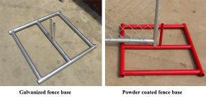 6FT, 8FT Height Temporary Chain Link Fencing Rental (In Ground and Portable) pictures & photos