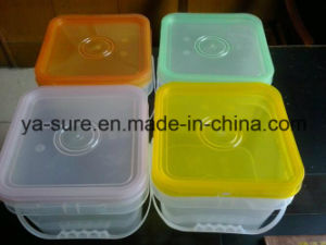 HDPE/PP Food Safe Clear Plastic Packaging Bucket 2L 5L 8L 15L 20L