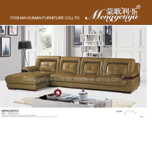 High Quality Sectional Genuine Leather Sofa (818#)