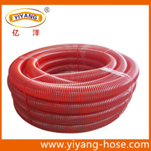 Corrugated Surface Red PVC Suction Hose, Manufacturer