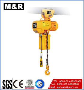 Factory Price Single Chain Type Electric Chain Hoist pictures & photos
