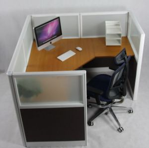 Popular 57 Fabric Office Cubicle with Frosted Glass