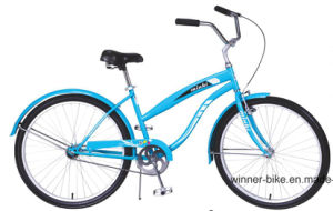 26′′ Steel Frame 1 Speed Ladys Beach Cruiser Bicycle pictures & photos