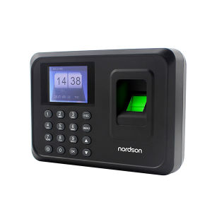 Best Selling 2.4 Inch TFT-LCD Standalone off-Line Fingerprint Time Attendance with USB Disk pictures & photos