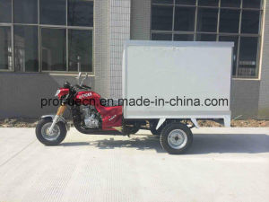 Fast Food Cargo Tricycle with PU Box (TR-2B) pictures & photos