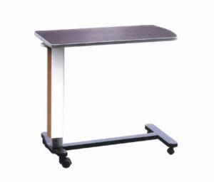 china adjustable hospital steel overbed dinner table (xh-o-6 Adjustable Dinner Table