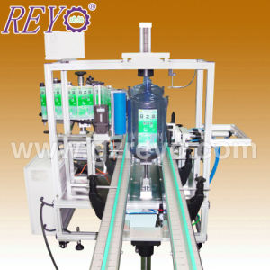 Automatic Sticker Linked Big Bottle Labeling Machine