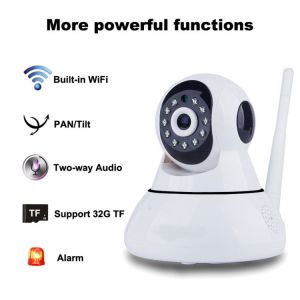 WiFi Wireless IP Security Camera, Plug and Play Home Surveillance Camera, Baby Pet Monitor pictures & photos