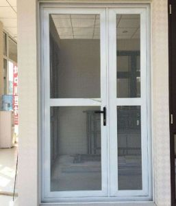 Cheap White Color Aluminium Casement Glass Door With Ex Factory Price  (ACD 030)