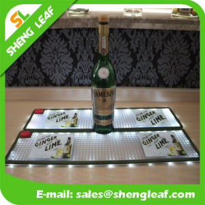 LED Lighting Soft PVC Bar Mat
