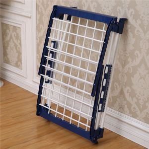 Wing Type Blue Folding Clothes Drying Rack (JP-CR0504W) pictures & photos