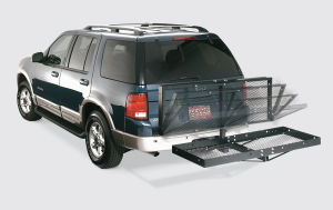 Durable All-Steel Construction Cargo Carrier