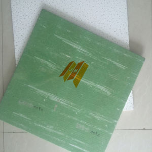Rh 80-99 Green Back Mineral Fiber Acoustic Ceiling Tile (595/603/604) pictures & photos