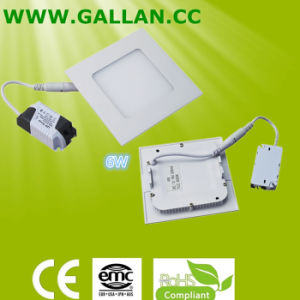 Wholesale 2016 New Square Type Thin 6W LED Panel Light pictures & photos