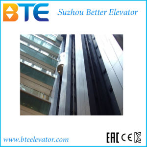 Ce Low Noise Safe and High Quality High Speed Elevator