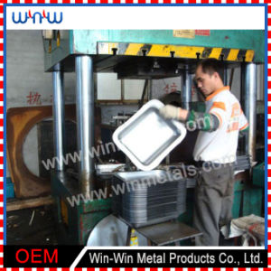 Deep Drawn Parts Stainless Steel Service Tray for Restaurant (WW-DD010) pictures & photos
