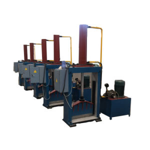 Single Knife Hydraulic Rubber Bale Cutting Machine