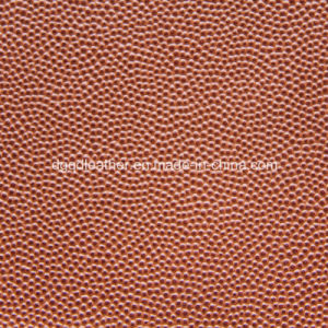 High Density Ball PU Leather (QDL-53193) pictures & photos