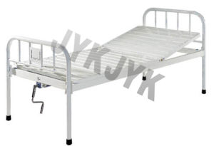 Coated Steel One-Function Manual Bed Hospital Bed pictures & photos