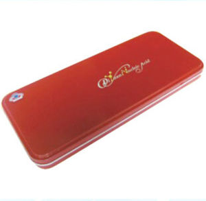 Rectangle Red Cigar Tin Box pictures & photos