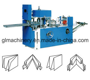 Glsp-A550 Handkerchief Machine Mini Hanky Folder Printed Embossed Handkerchief pictures & photos