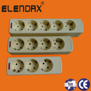 European Style Extension Socket with Grounding (E9000E) pictures & photos