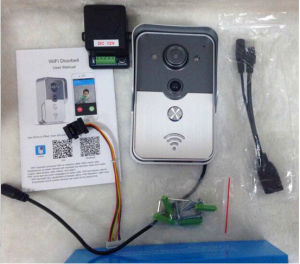 2015 Newest WiFi Video Door Phone with Android Ios APP Remote Unlock  Two-Way Intercom Tamper Alarm PIR Detection