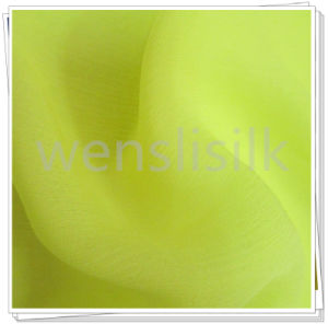 Crinkle Ggt Dyed Silk Fabric (wenslisilk140702S11) pictures & photos