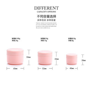 100ml Red Color Cream Jar 50ml Red Color Cream Jar pictures & photos