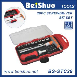 29PC Professional Drive Socket Screwdriver Bit Set