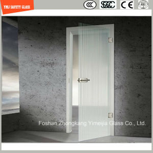 4-19mm Anti-Fingerprint Acid Ethced Tempered Glass Door pictures & photos