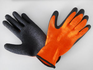 10g Acrylic Shell Latex Coated Safety Work Glove (L1301) pictures & photos