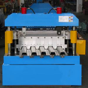 Panasonic PLC Controlled Floor Deck Roll Forming Machine