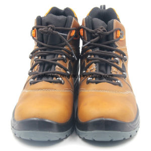 High Cut Nubulk Leather Waterporrf Safety Footwear Ss-052 pictures & photos