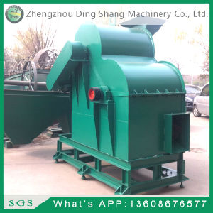 Doulb Pole Shredder for Semi Wet Materials Sjfs-60