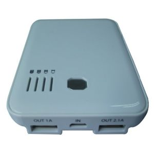 5000mAh Power Bank for iPhone, iPad, Mobile Phone