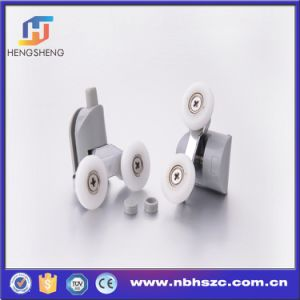 "Well- Shaped ""Big Mouth"" Twin Shower Door Rollers, Ball Bearing Wheels pictures & photos"