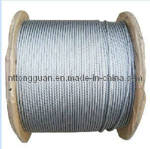 Tongguan Brand Galvanized Steel Wire Rope pictures & photos