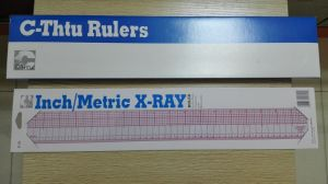 C-Thtu B-95 Inch / Metric X-ray Ruler pictures & photos